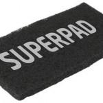 Schwarzes Superpad