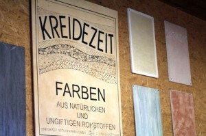 Kreidezeit bietet umweltfreundliche, wohnbiologische Farben und Putze