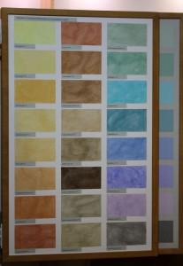 Allein die Variationsmöglichkeiten der Sumpfkalkfarbe sind eine Welt für sich